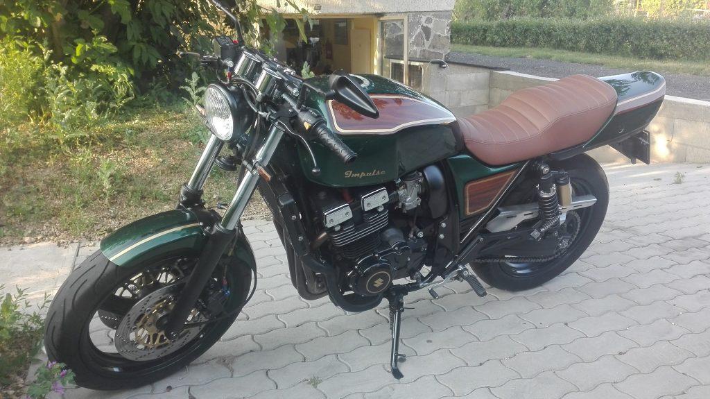 Egy régi motorom